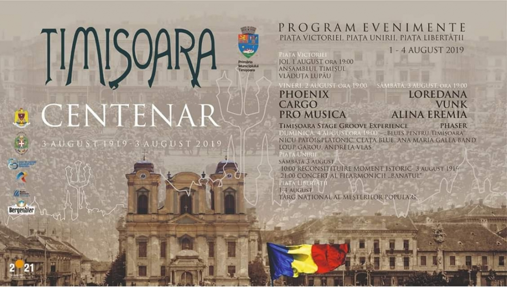 timisoara-centenial-celebration-schedule